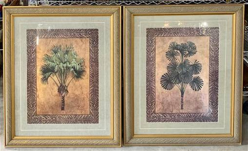 Pair of Large Decorator Pictures.