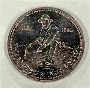 Prospector Round - One Troy Ounce .999 Silver