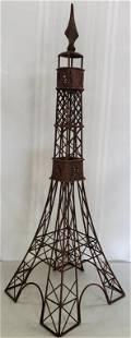 Decorator Metal Eiffel Tower