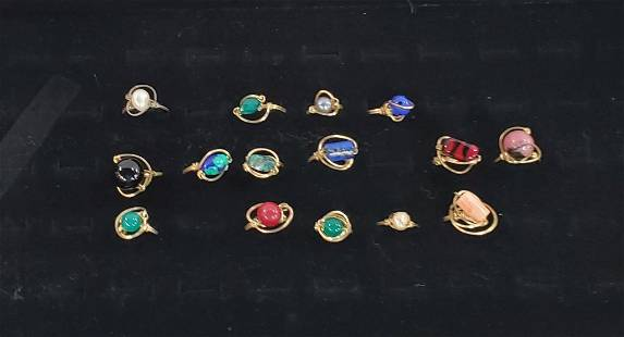 15 Assorted Rings