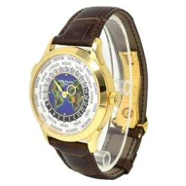 Patek Philippe World Time 5231J Cloisonne Dial 18K Gold