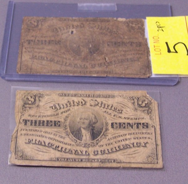 5: TWO  THREE CENT NOTES