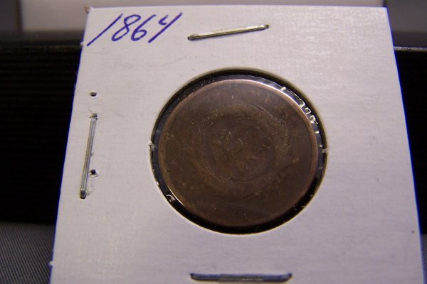 8: 1864 TWO CENT PIECE