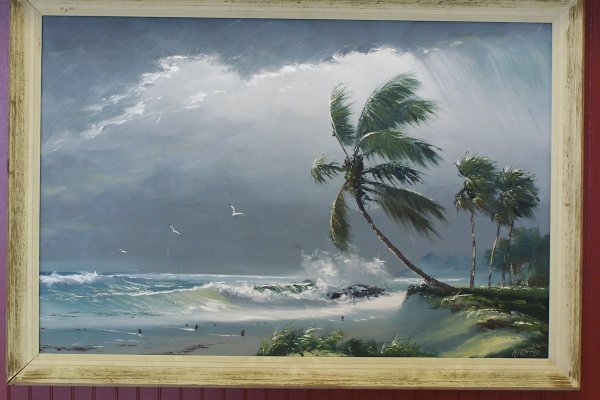 "139: 24""X36"" Highwaymen H. NEWTON ON MASONITE"