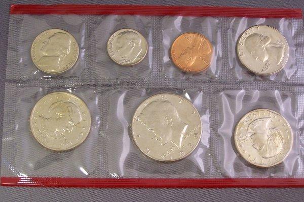 11A: UNCIRCULATED COIN SET 1980