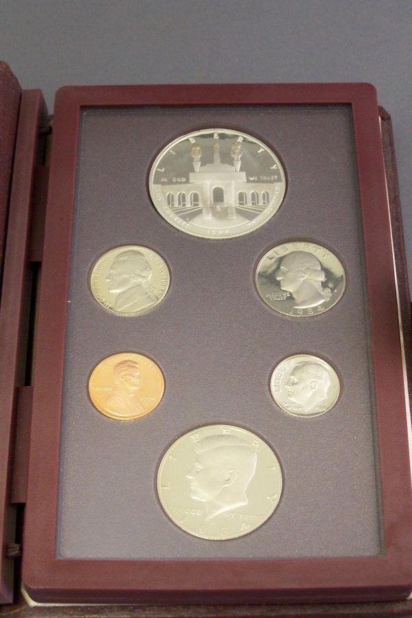 12A: U.S. OLYMPIC MINT SET 1984