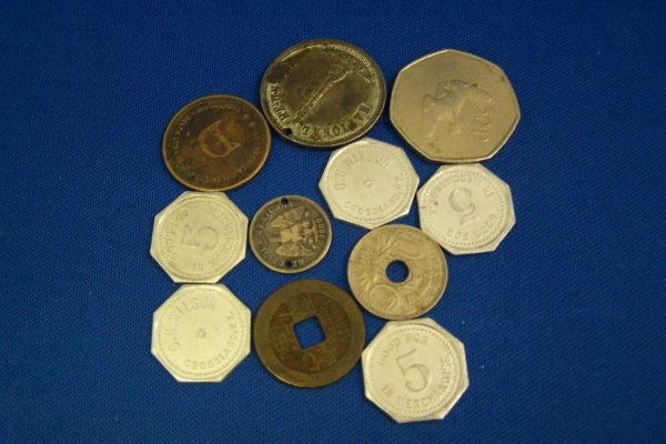19A: 10 UNUSUAL FOREIGN COINS
