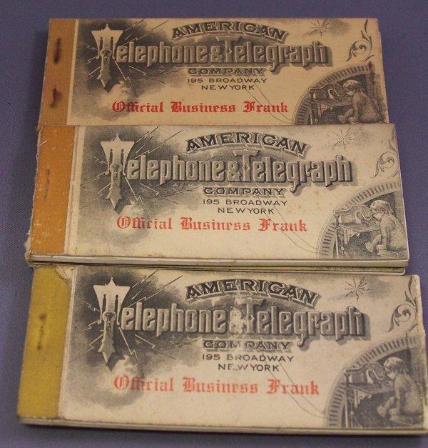 27A: SEVEN BOOKS OF AMERICAN TELEPHONE & TELEGRAPH BUSI