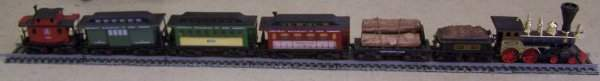 66A: COMPLETE JIM BEAM DECANTER TRAIN