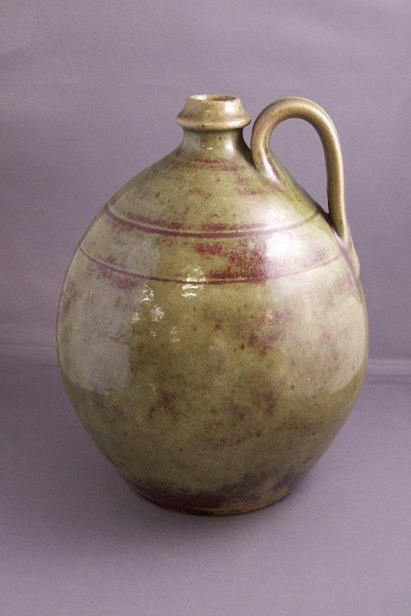 12: LARGE JUG TOWN POTTERY JUG IN PERFECT CONDITION