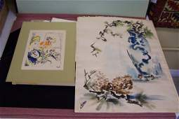 297: PORTFOLIO FULL OF ART INCLUDING CHAGALL