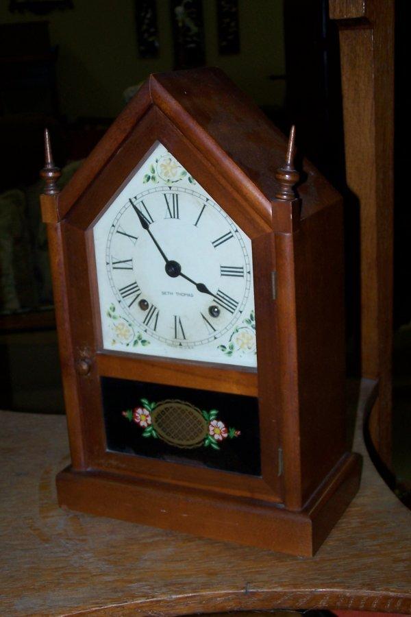 405: SETH THOMAS SHELF CLOCK