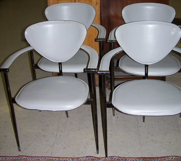 417: SET OF FOUR ARRBEN / ITALY ARM CHAIRS