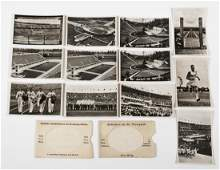 12 OLYMPIC GAMES BERLIN 1936 PHOTO POSTCARDS