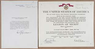 WWII US CITATION TO RUSSIAN SOLDIER SIGNED BY TRUMAN