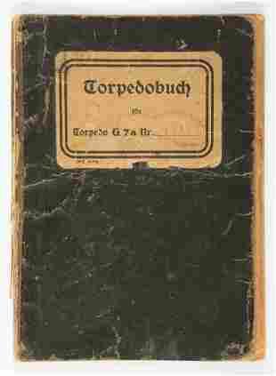 TORPEDOBUCH KRIEGSMARINE TORPEDO BOOK