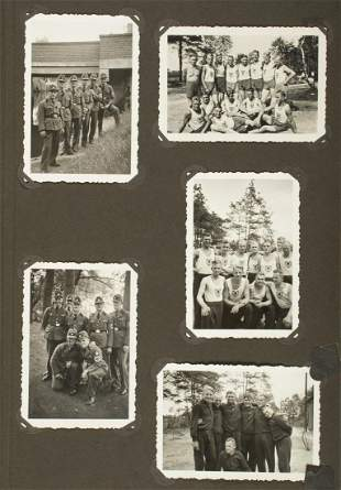 WWII GERMAN INFANTRY REGIMENT 23 ALBUM
