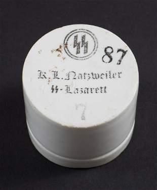 WWII CERAMIC MEDICAL CUP KL NATZWEILER