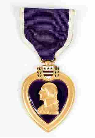 WWII U.S. NAMED PURPLE HEART