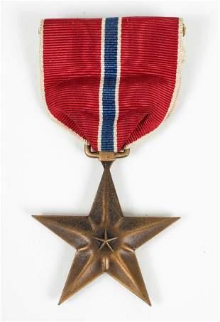 WWII NAMED U.S. BRONZE STAR BATTLE AXE REGIMENT