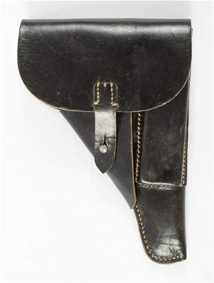 WWII GERMAN POLICE P38 PISTOL LEATHER HOLSTER