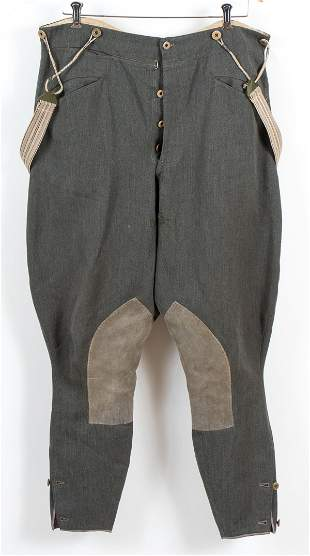 WWII GERMAN OFFICER/CAVALRY TROUSERS