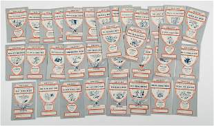 WWII U.S. G.I. HUMOROUS MEDAL AWARDS POSTCARDS (33)