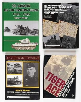 GERMAN TIGER TANKS & COMMANDERS (4)