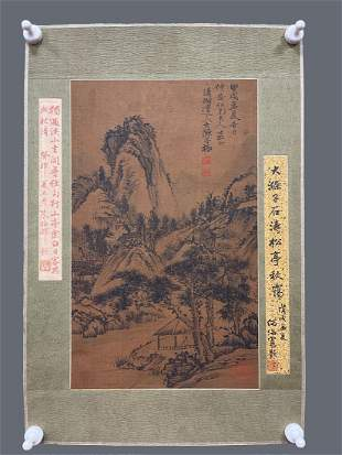 A CHINESE LANDSCAPE PAINTING, SHI TAO