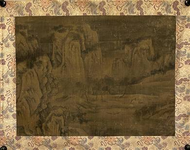 TRADITIONAL CHINESE LANDSCAPE PAINTING, ANONYMOUS
