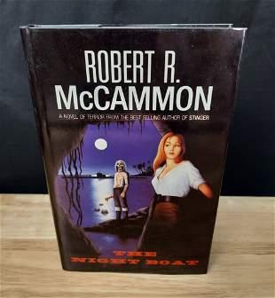 THE NIGHT BOAT ROBERT MCCAMMON 1ST EDITION