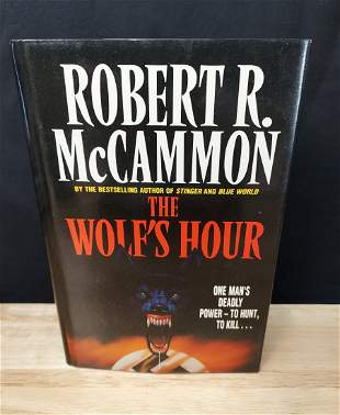 THE WOLF'S HOUR ROBERT MCCAMMON 1ST EDITION