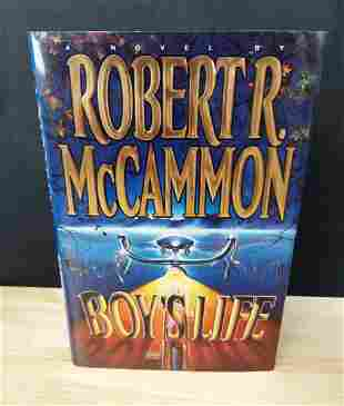 BOY'S LIFE ROBERT MCCAMMON 1ST EDITION