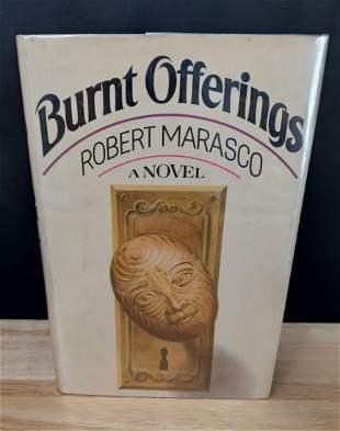 BURNT OFFERINGS ROBERT MARASCO 1ST EDITION