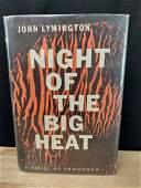 NIGHT OF THE BIG HEAT JOHN LYMINGTON 1ST EDITION