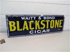 Blackstone Cigar SSP Sign