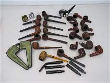 Collection of Pipes and Lighters
