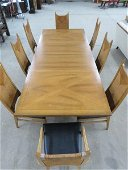 Mid Century B.F. Huntley Dining Room Table and Chairs