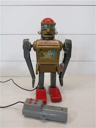 Early Marx Mr. Mercury Tin Toy Robot