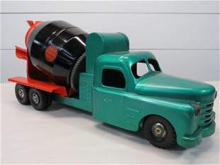 Strutco Ready Mix Concrete Cement Mixer Steel Toy Truck