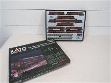 Kato Pennsylvania Railroad N Scale Passenger Car Set