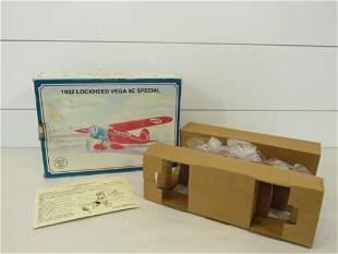 Conoco Die Cast Scale Model 1932 Lockheed Vega 5C Plane