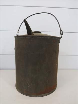 B & O Railroad Signal & Lantern Pot Filler Can