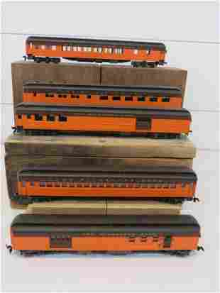 HO Scale Rivarossi Milwaukee Road Passenger Cars (5)