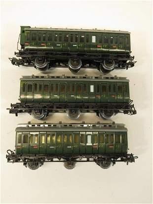 Marklin HO Scale Passenger Cars (3)