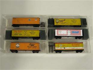 Micro Trains N Scale Custom Painted Freight Cars (6)