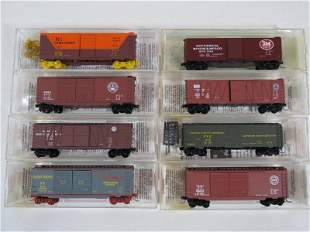 Micro Trains N Scale Freight Cars (8)