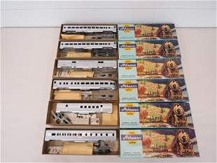 Athearn HO Scale New York Central Passenger Cars (6)