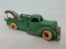 1930's Hubley Cast Iron Tow Truck with Hook