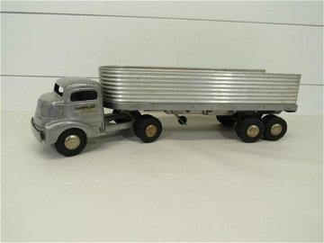 Smith Miller Fruehauf Flat Bed Truck Trailer